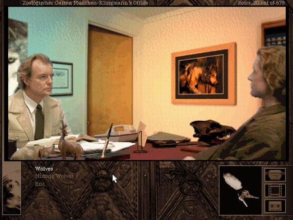 Gabriel Knight 2: The Beast Within screenshot 2