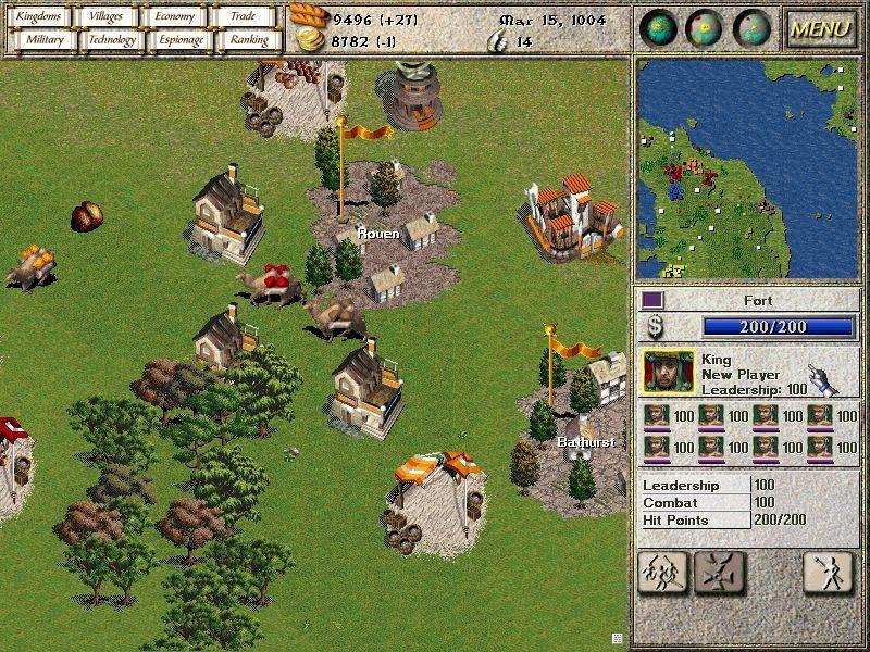 Seven Kingdoms: Ancient Adversaries screenshot 1