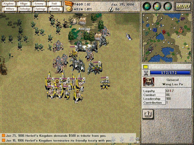 Seven Kingdoms: Ancient Adversaries screenshot 2