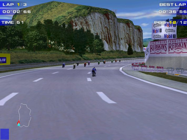 Moto Racer 2 screenshot 1