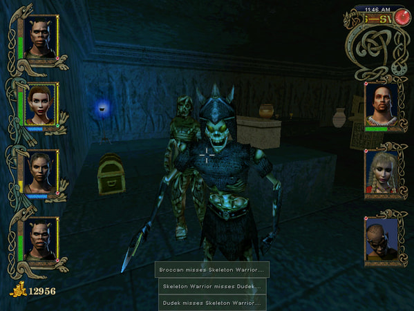 Might and Magic 9 screenshot 3