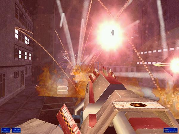 Shogo: Mobile Armor Division screenshot 2