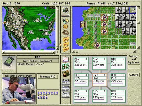Capitalism Plus screenshot 1