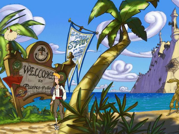 The Curse of Monkey Island screenshot 1