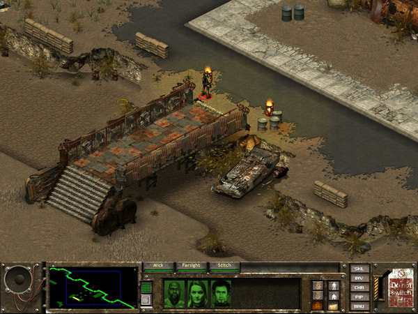 Fallout Tactics screenshot 2
