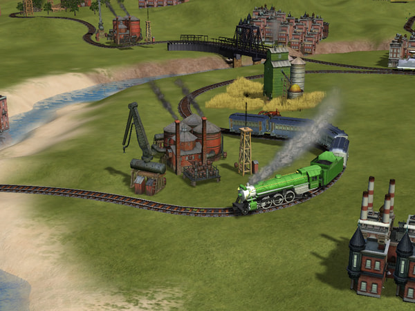 Sid Meier's Railroads! screenshot 1