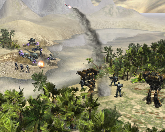 Earth 2160 screenshot 1