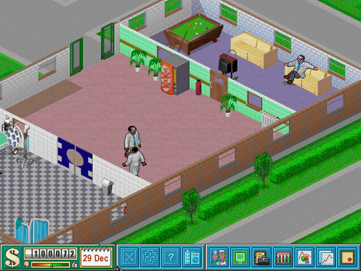 Image result for Theme Hospital
