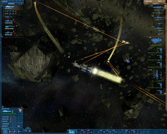Nexus: The Jupiter Incident screenshot 2
