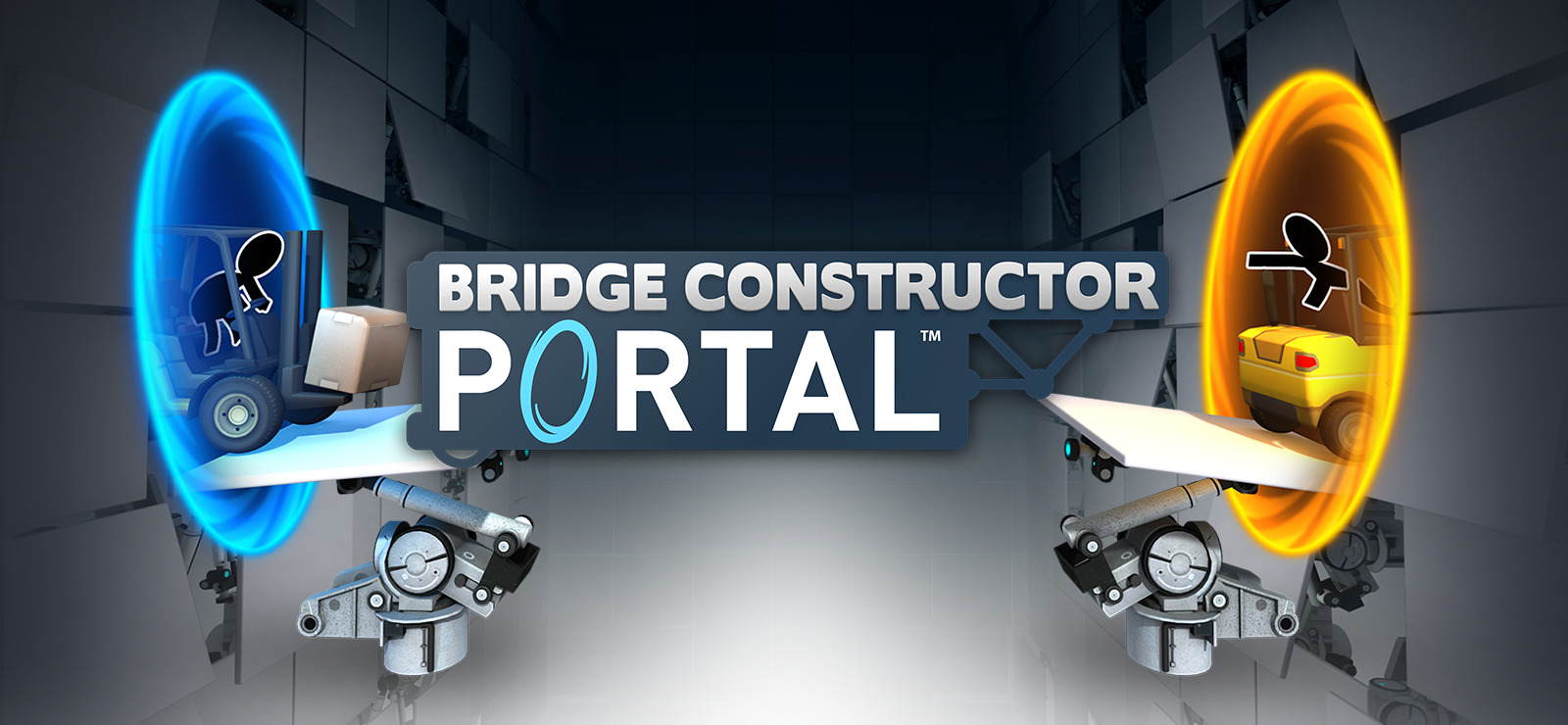 Bridge Constructor Portal Portal Proficiency-GOG