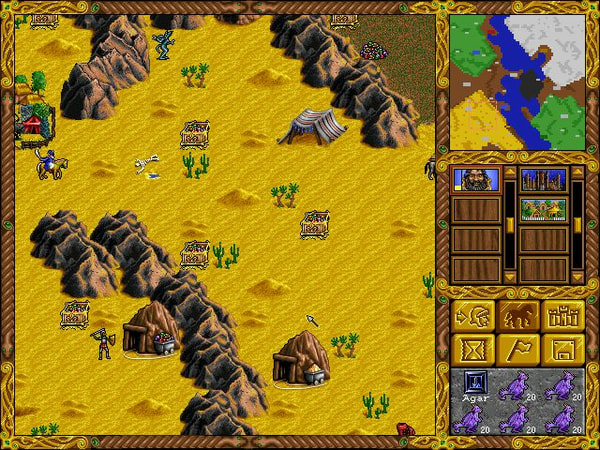 Heroes of Might and Magic screenshot 2